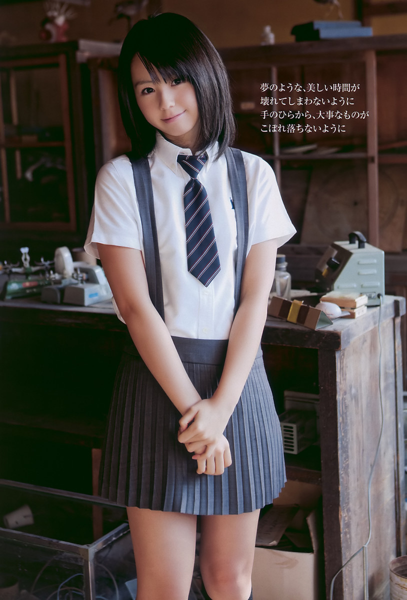 Rina Koike looks like former AKB48 member Atsuko Maeda.