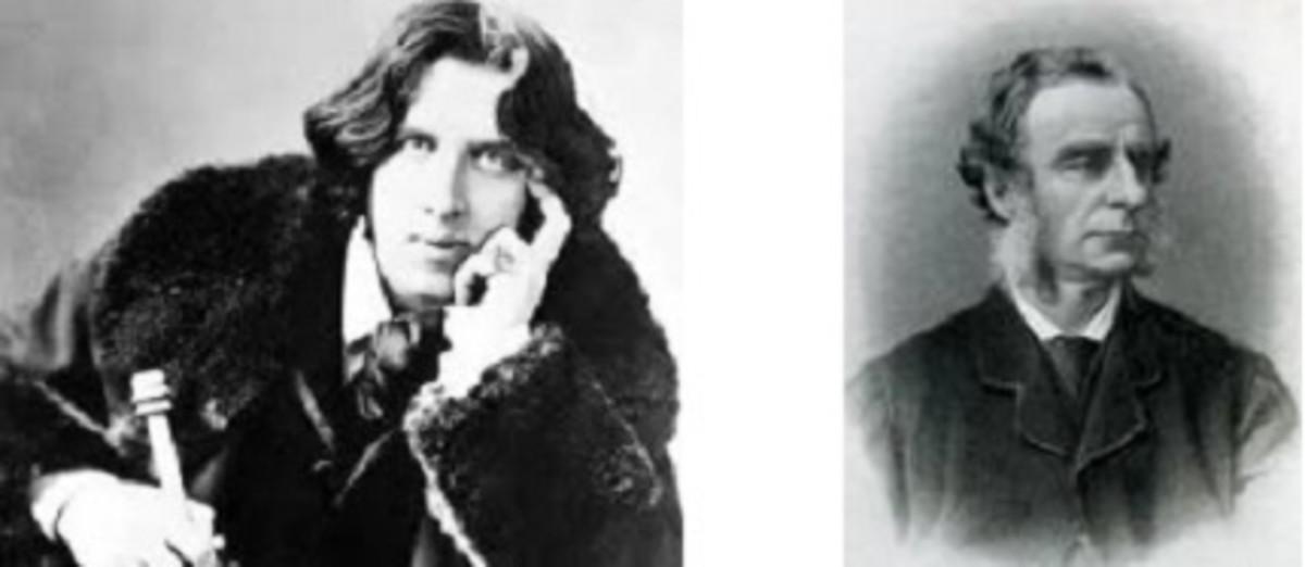 Oscar Wilde and Charles Kingsley