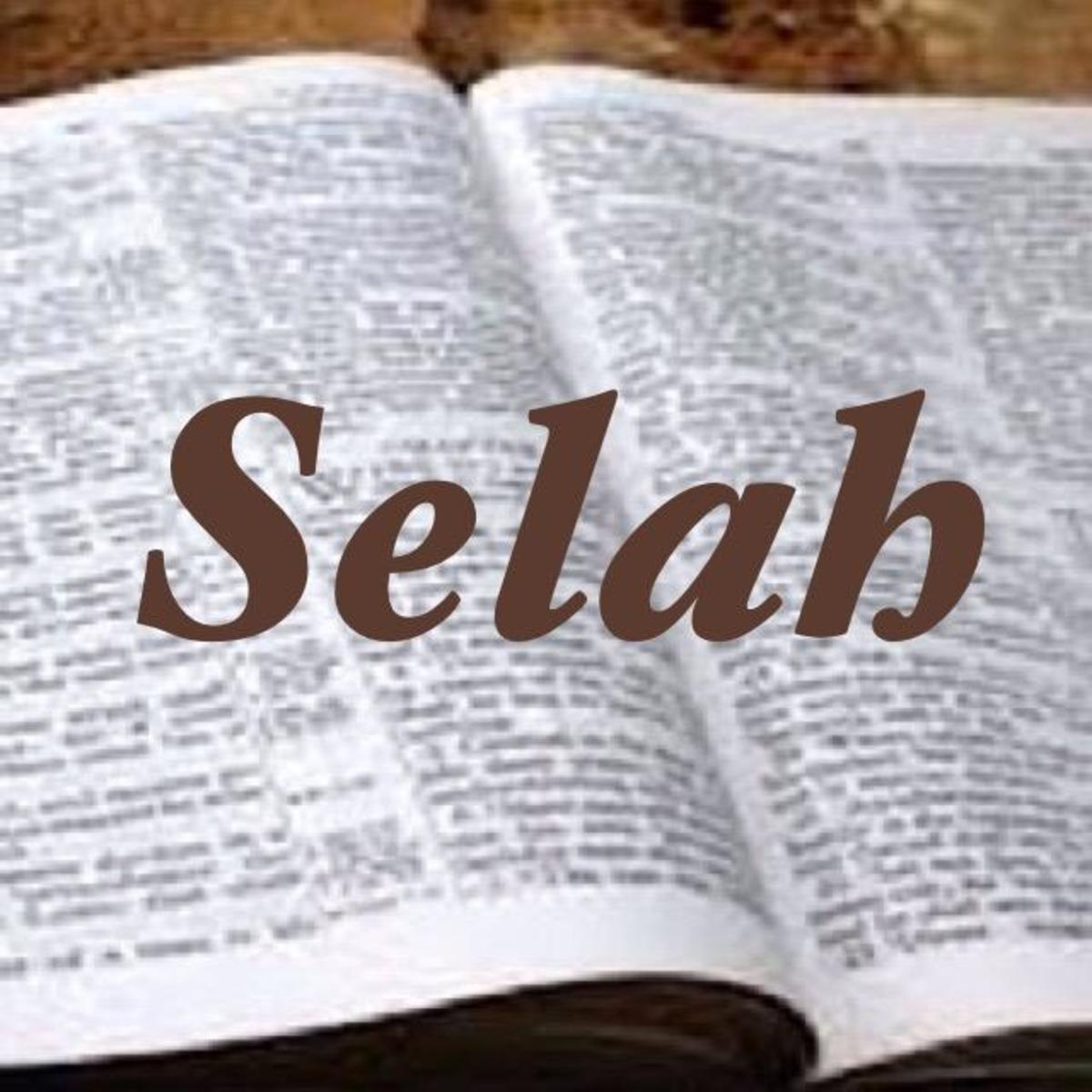 Selah: A Bible Word Study