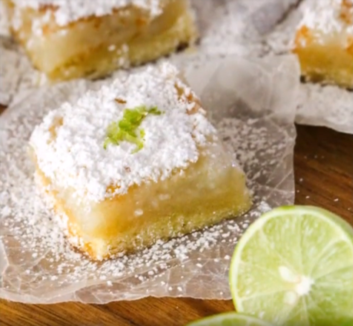 Key Lime Bar Recipe