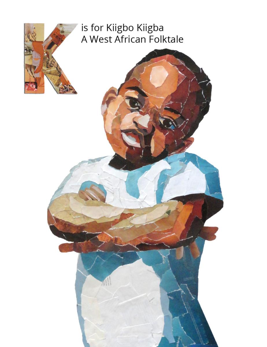 Kiigbo Kiigba illustration for the Fairytale Alphabet Book.
