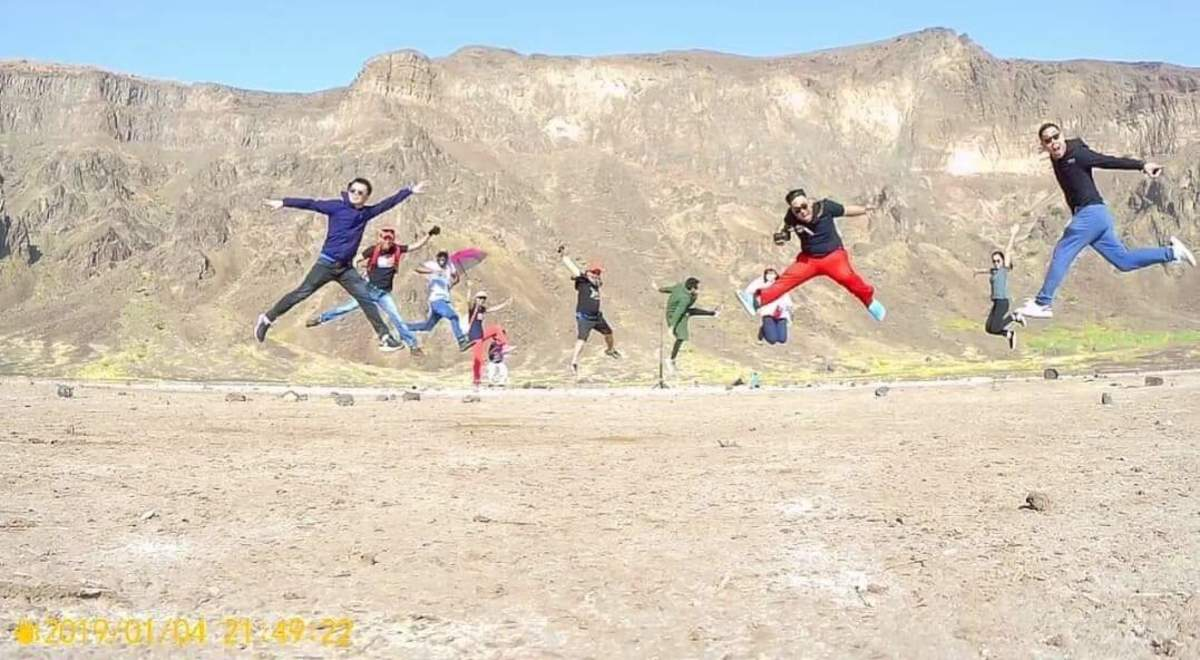 Jumpshot at Al Wahba crater is a must!