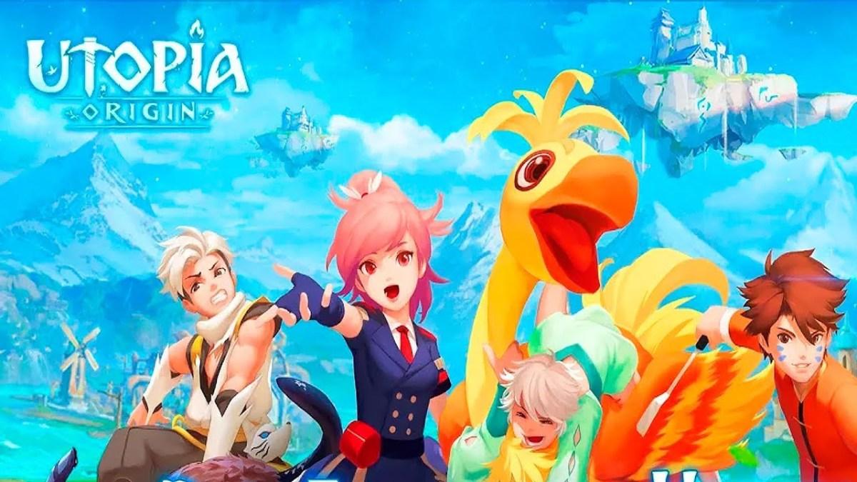Utopia: Origin Official Art