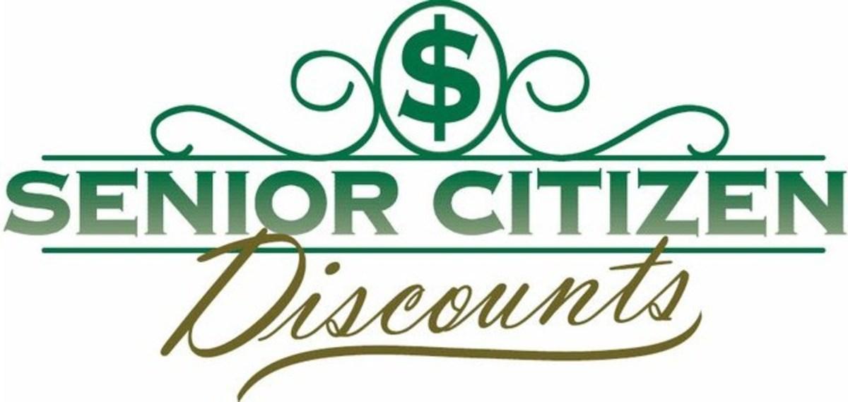 Enjoy senior discounts