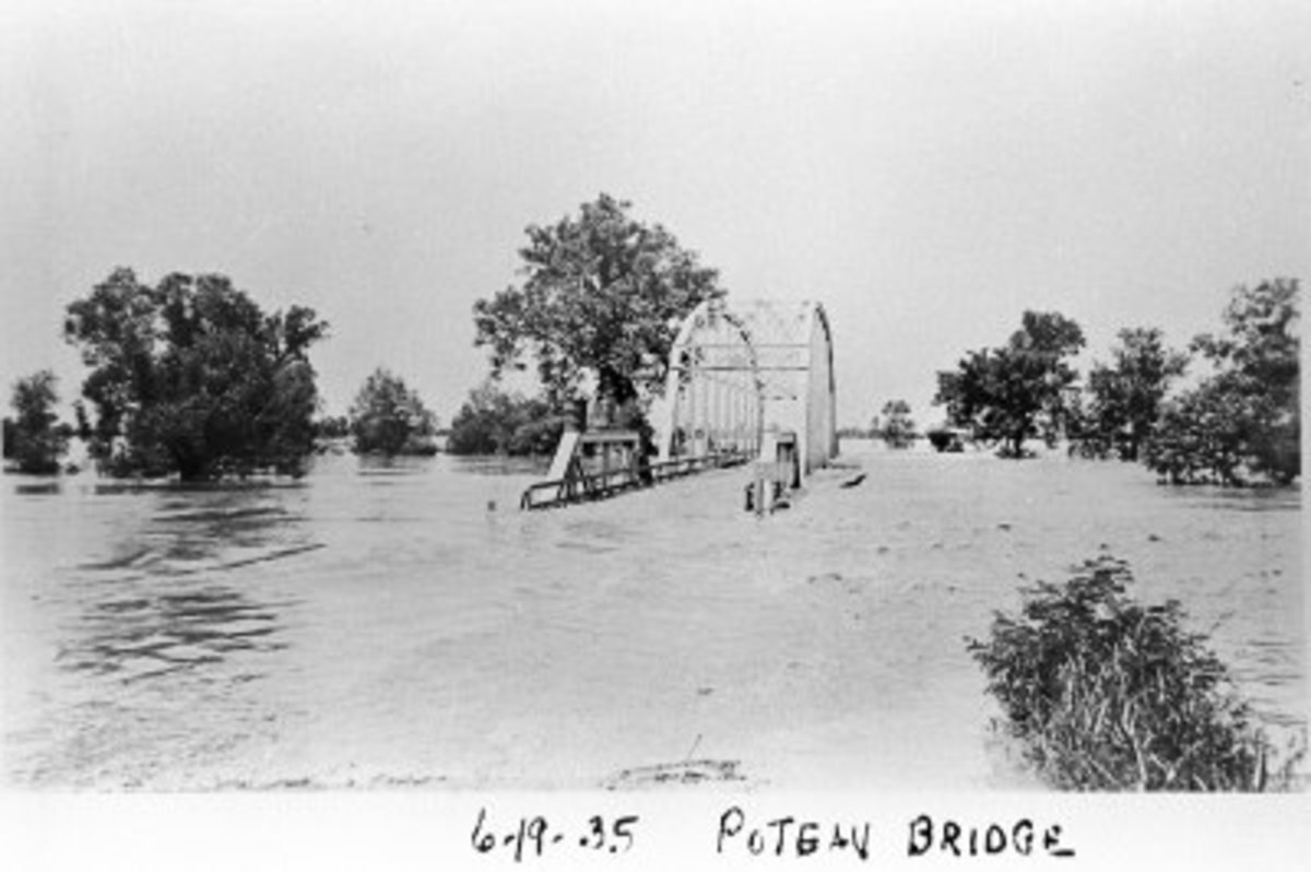 Poteau River Flood of 1935