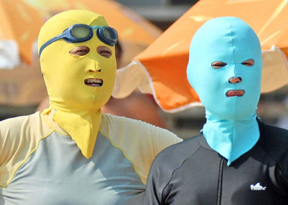 The Facekini and the Underlying Racism in Mainland China