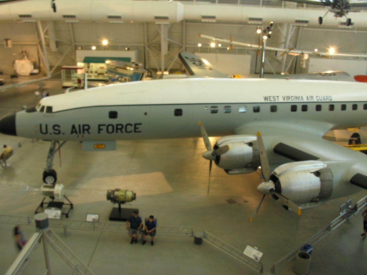 A C-121 at the Udvar-Hazy Center, Virginia.  June 2018.