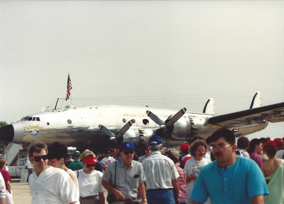 The Columbine, a transport for President Dwight D. Eisenhower.