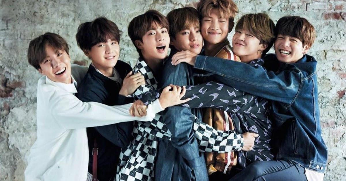 [L-R: J-Hope,Suga, Jin, V, RM, Jimin, Jungkook]