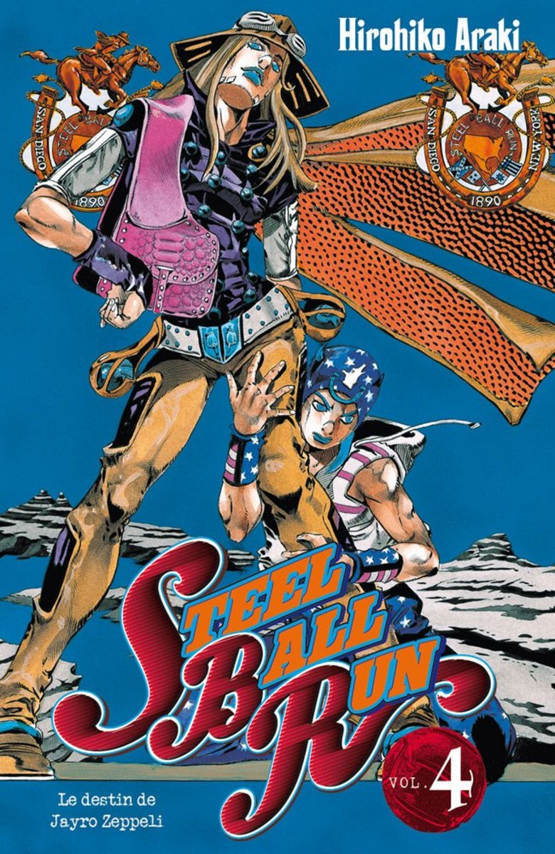 Why Have You Not Read Jojo's Bizarre Adventure: Steel Ball Run?