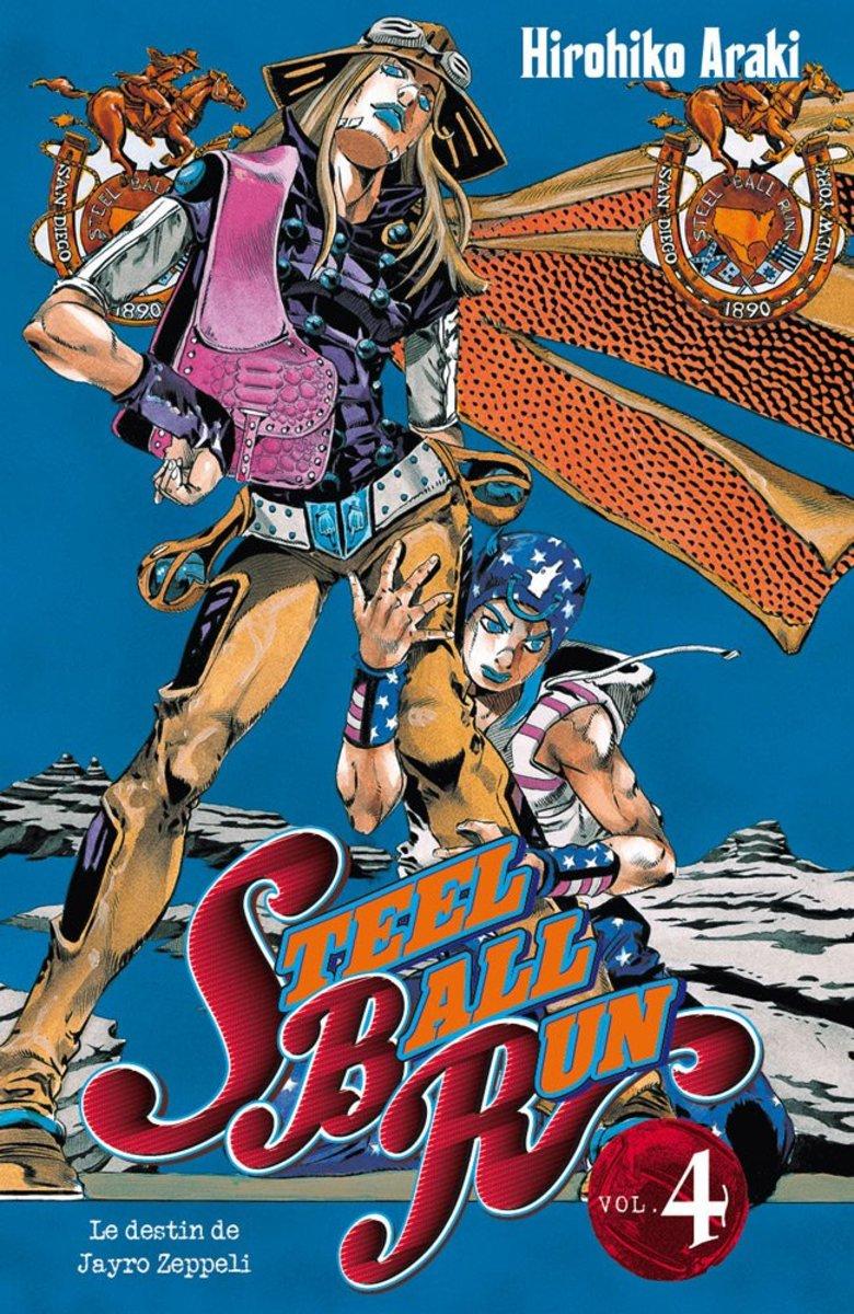 Why Have You Not Read Jojo's Bizarre Adventure: Steel Ball Run?