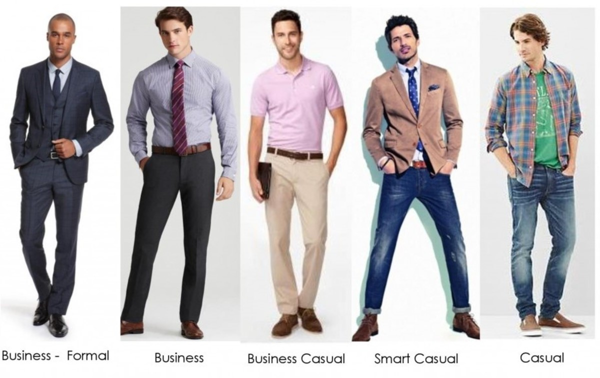 Dress Codes for Different Occassions