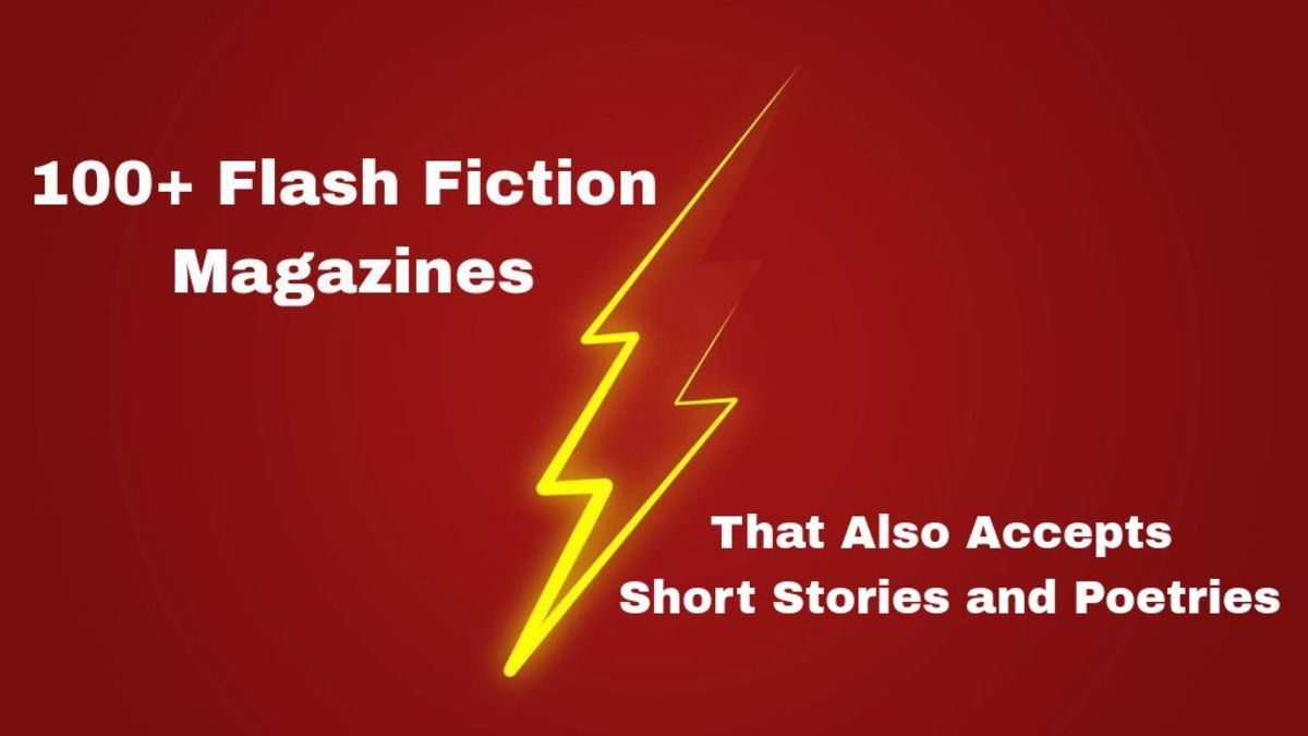 100+ Flash Fiction Magazines That Also Accepts Short Stories and Poetries