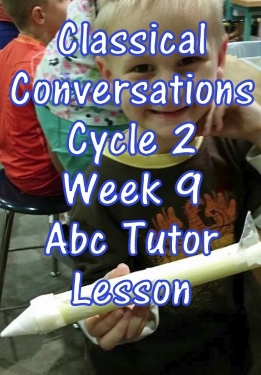 Classical Conversations Cycle 2 Week 9 Abc Tutor Plan