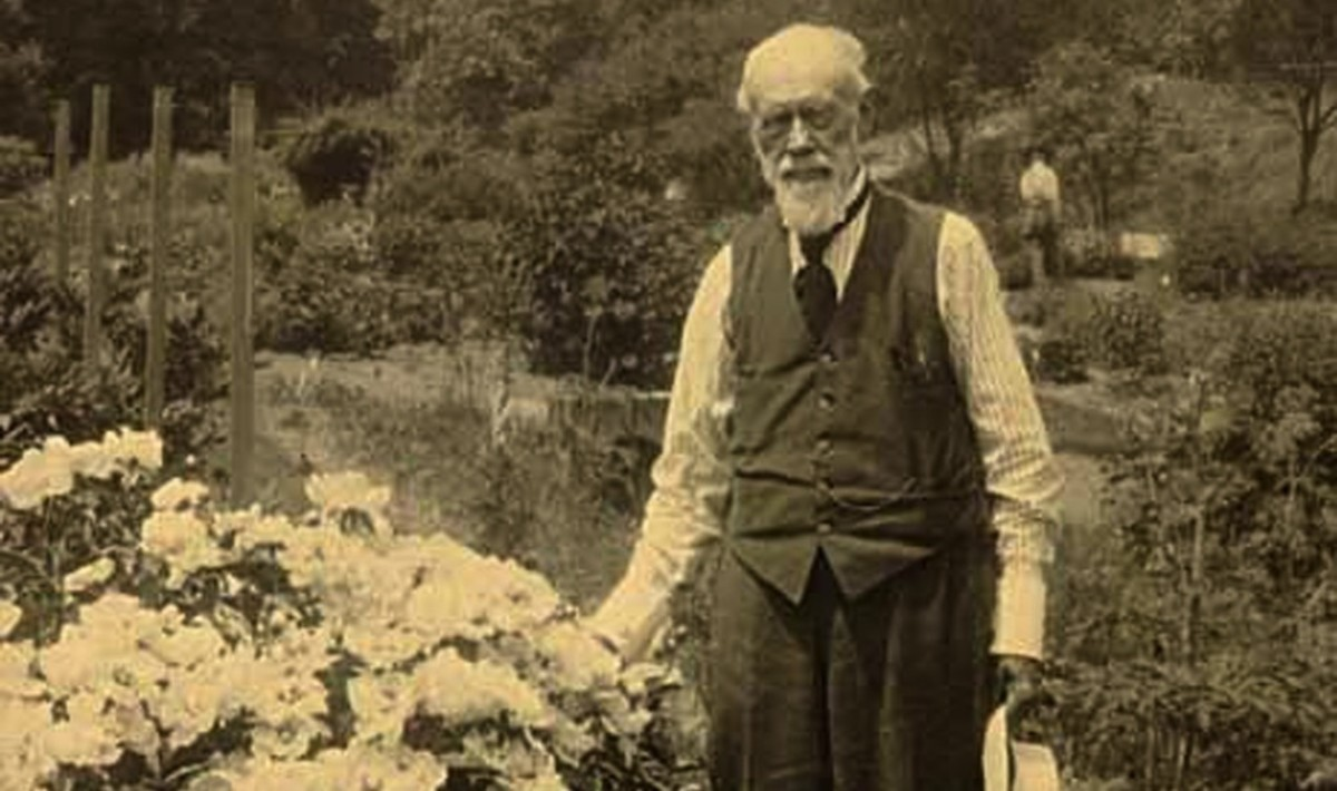 W.J. Beal, MSU's Luther Burbank, who inspired the Beal Botanical Garden