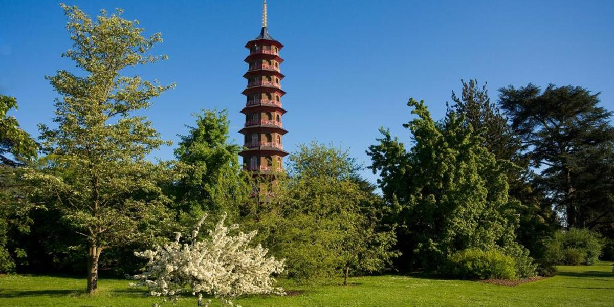 The Chinese Pagoda, a touch of the Orient and dating from 1759