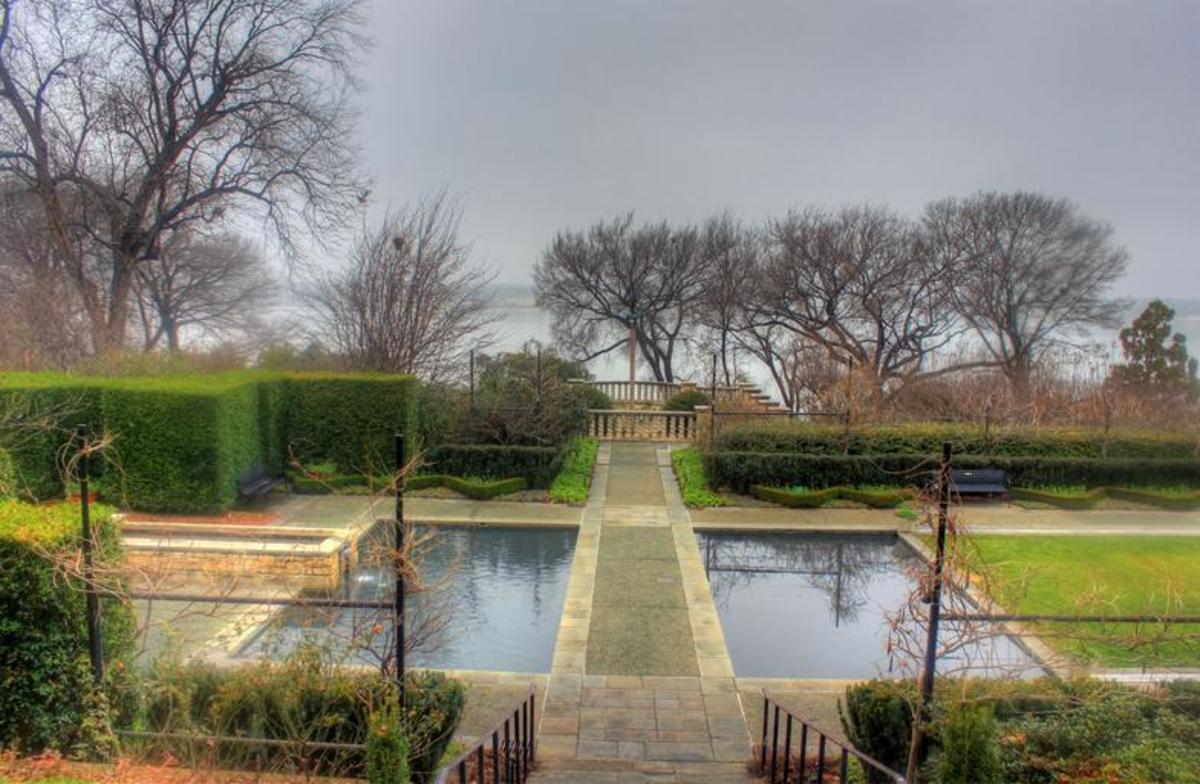 "Clarence E. Lewis Landscape Arboretum, MSU, one of many gardens that make Michigan State the ""arboretum campus"""