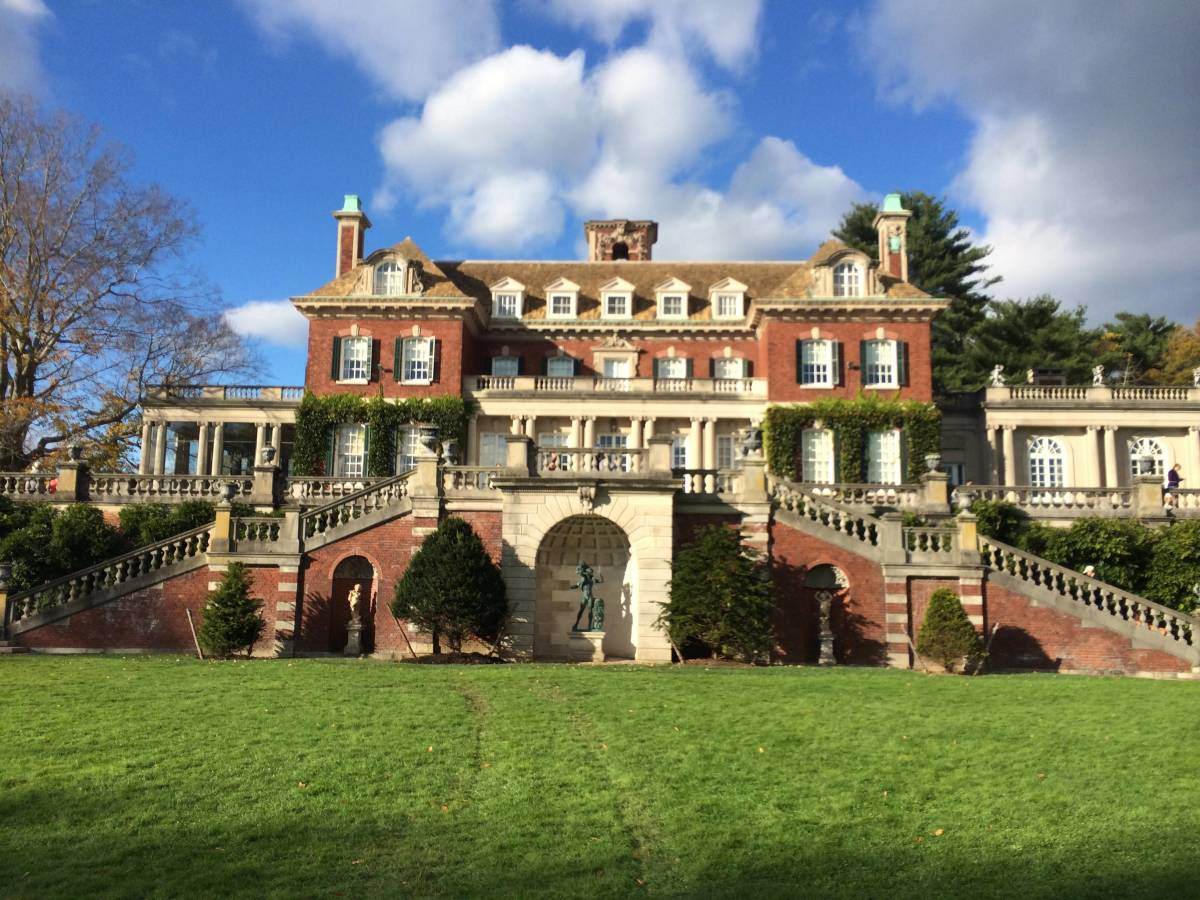 Westbury House, centerpiece of what may be the ultimate blend of art, science, nature...and beauty