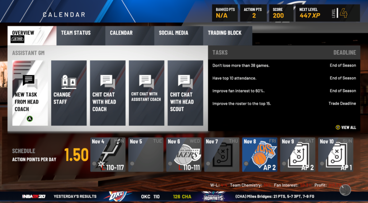 MyGM looks good at the moment