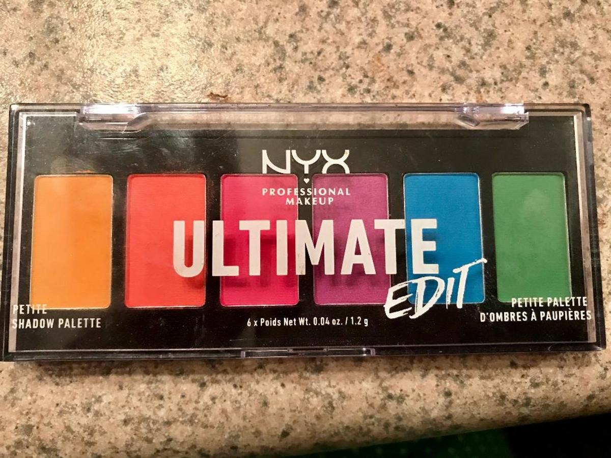 NYX Ultimate Edit Petite Eye Shadow Palette (Brights) Review