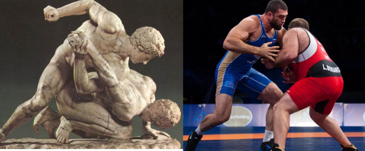 Ancient Greek Wrestling vs Modern Wrestling