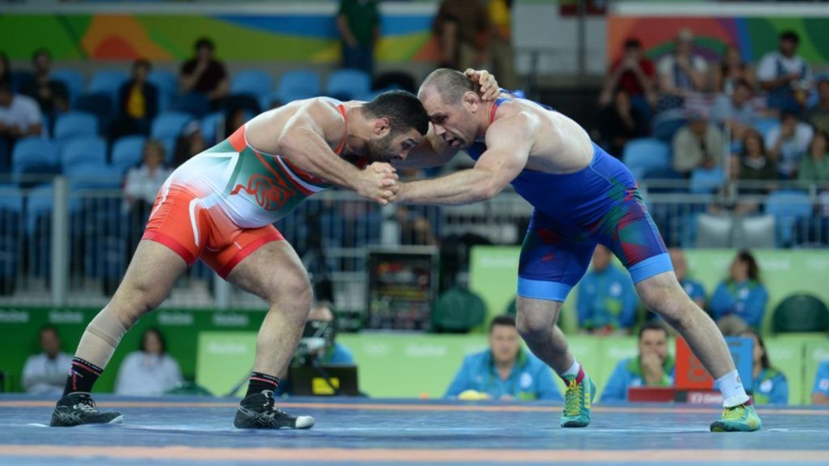 Greco-Roman wrestling competition.