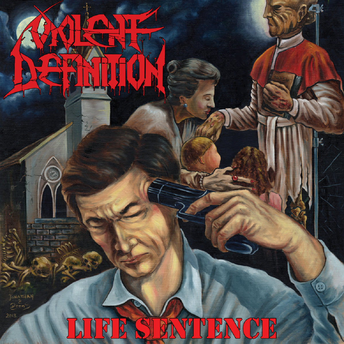 Review of the Album Life Sentence by Greek Thrash Metal Band Violent Definition