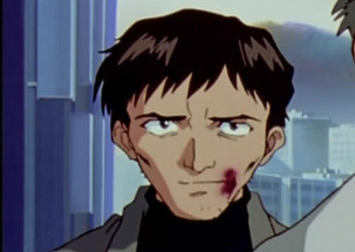 The young Gendo Ikari