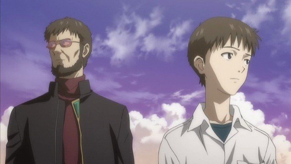 Gendo Ikari is Shinji's Darker Version