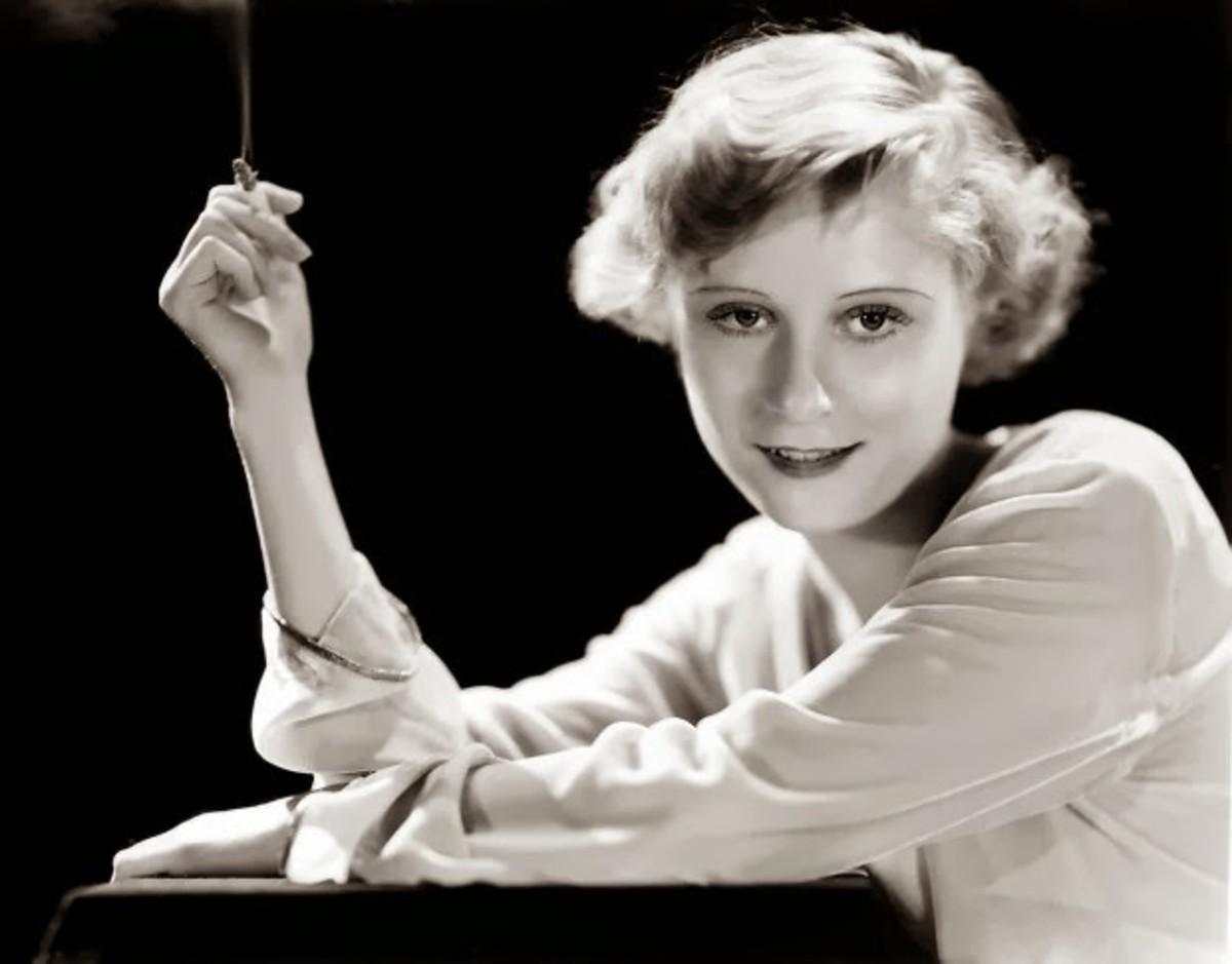 Actress Peg Entwistle