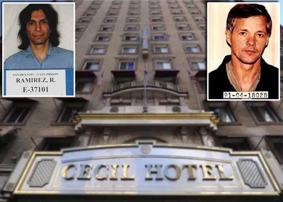 "Richard Ramirez ""The Night Stalker"" (left) and Jack Unterweger."
