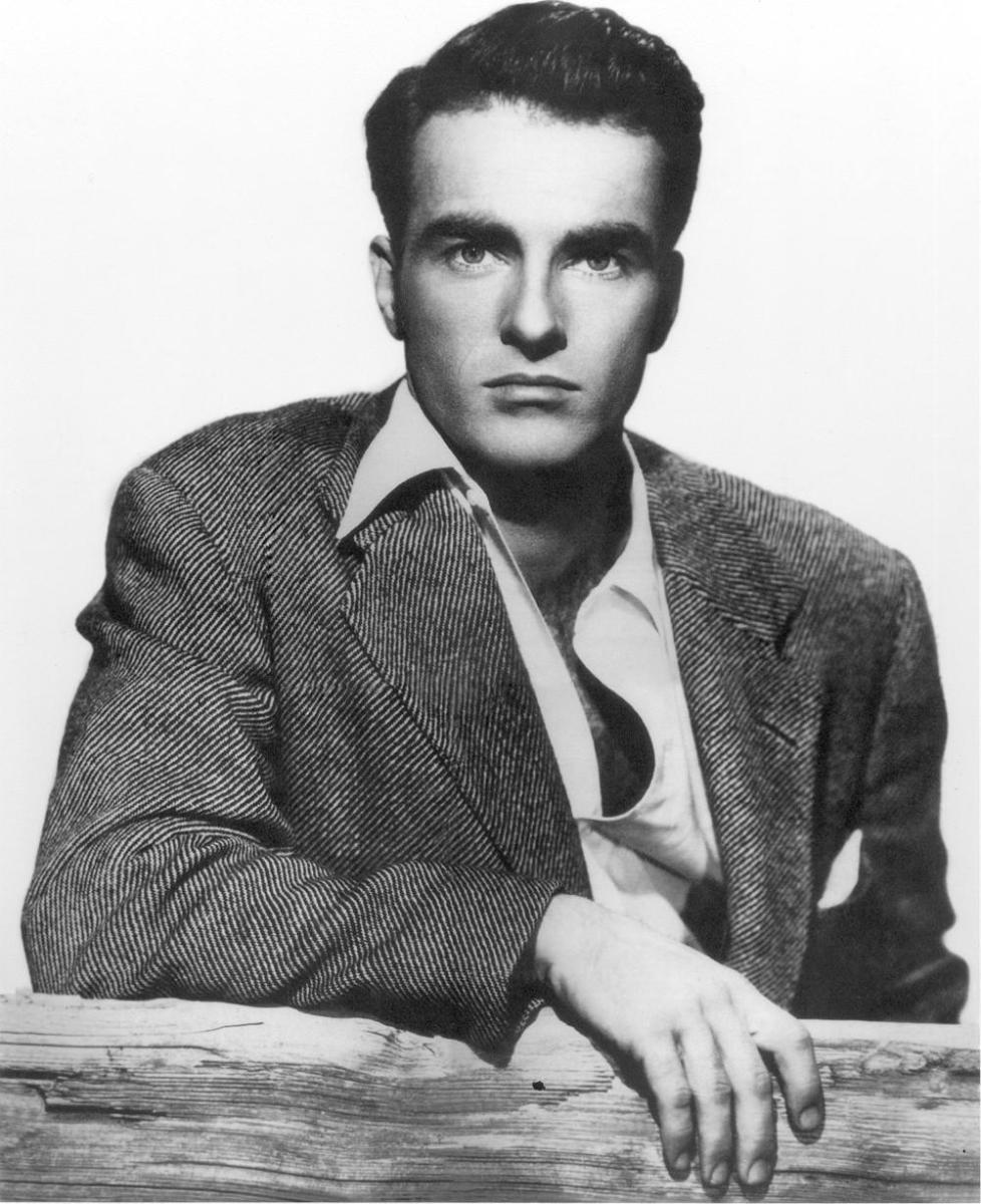 Actor Montgomery Clift.