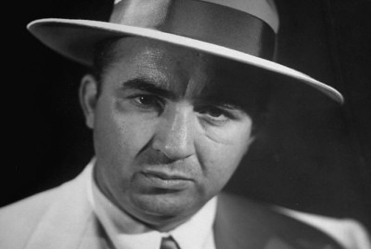 Gangster Mickey Cohen.