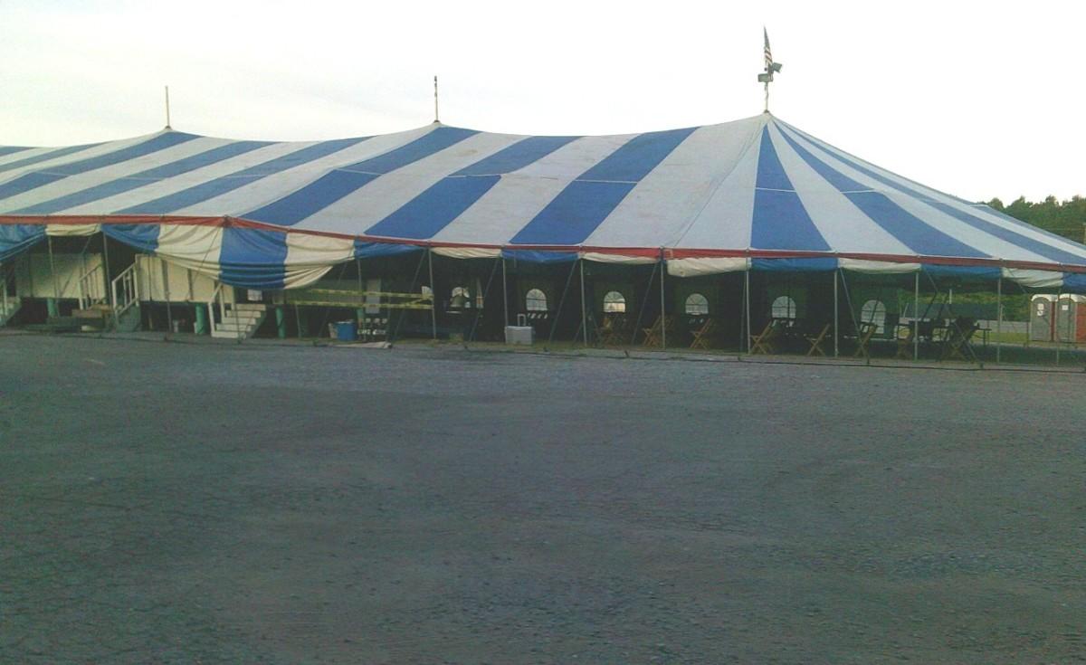 Rev. Terrell's revival tent