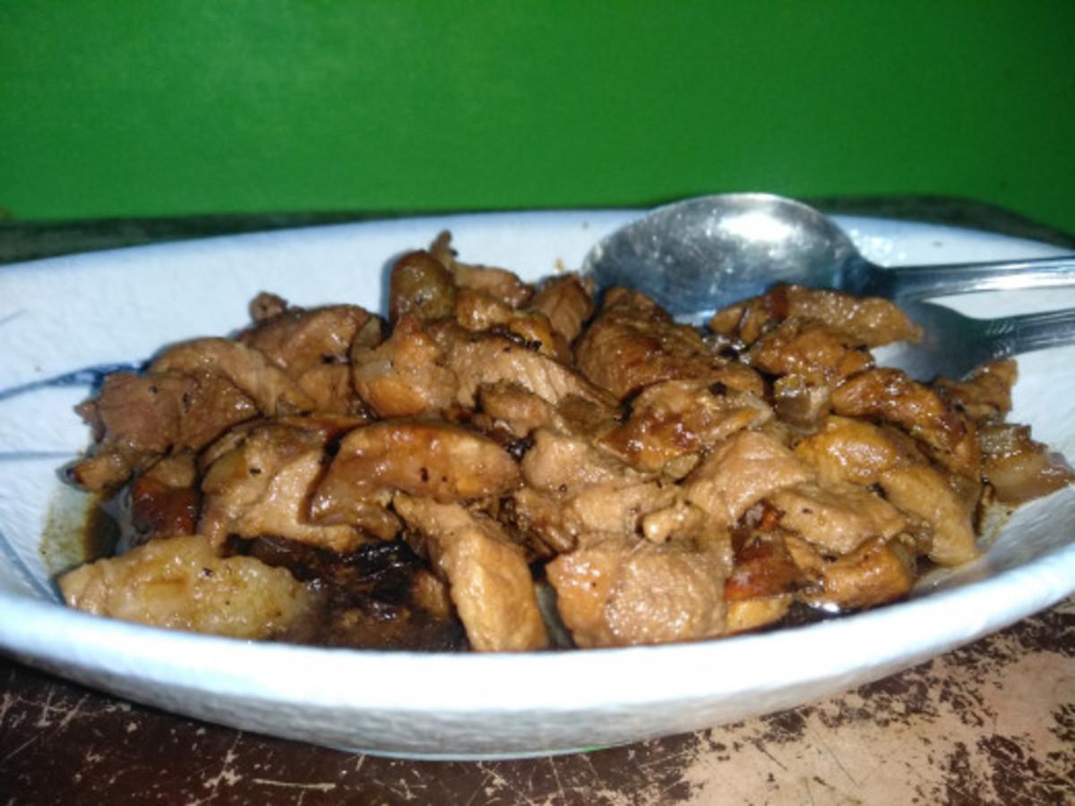 My version of Pork Adobo