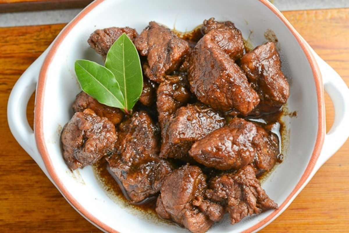 Pork Adobo, a quintessential Filipino dish. Photo from Salu-salo.