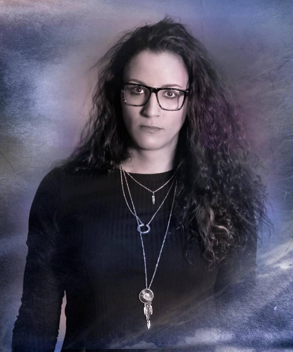 Drummer Lea Larsson