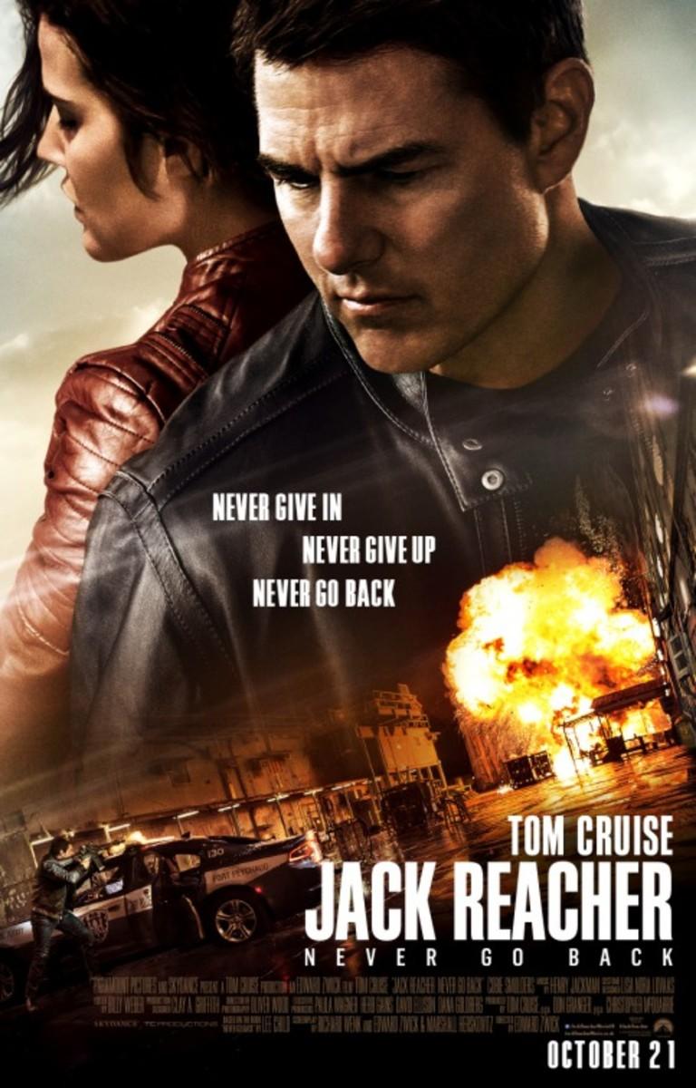 Jack Reacher Never Go Back (2016) Movie Review