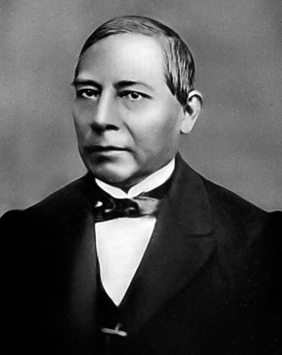 Photo of Benito Juárez