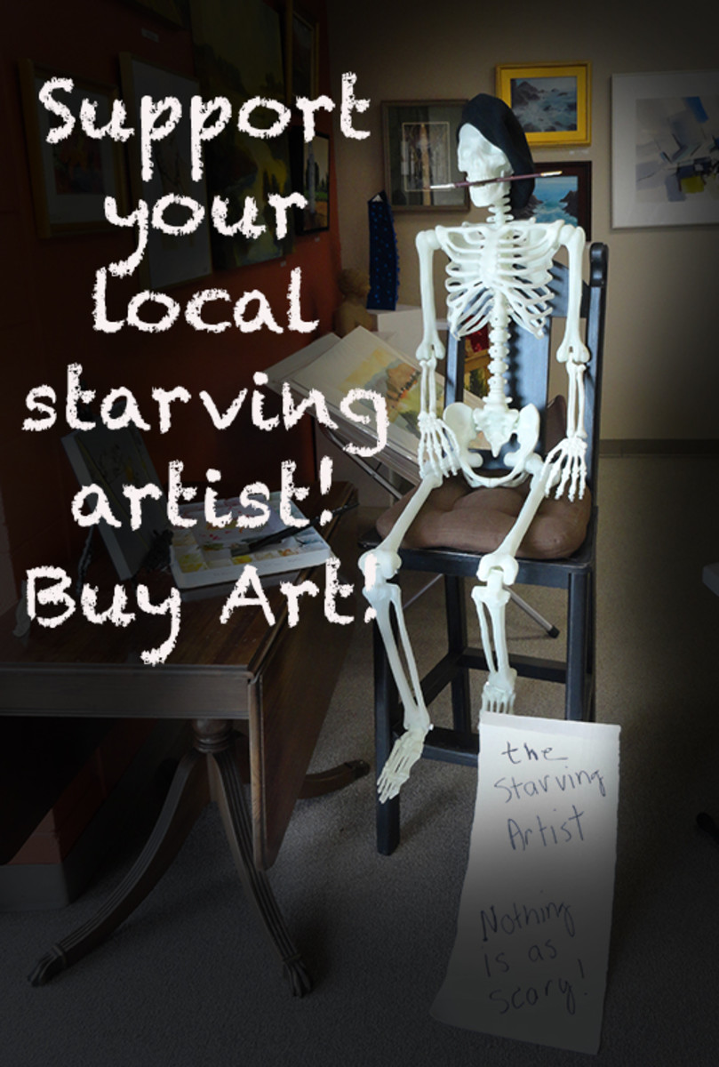 Nothing scarier for an artist.