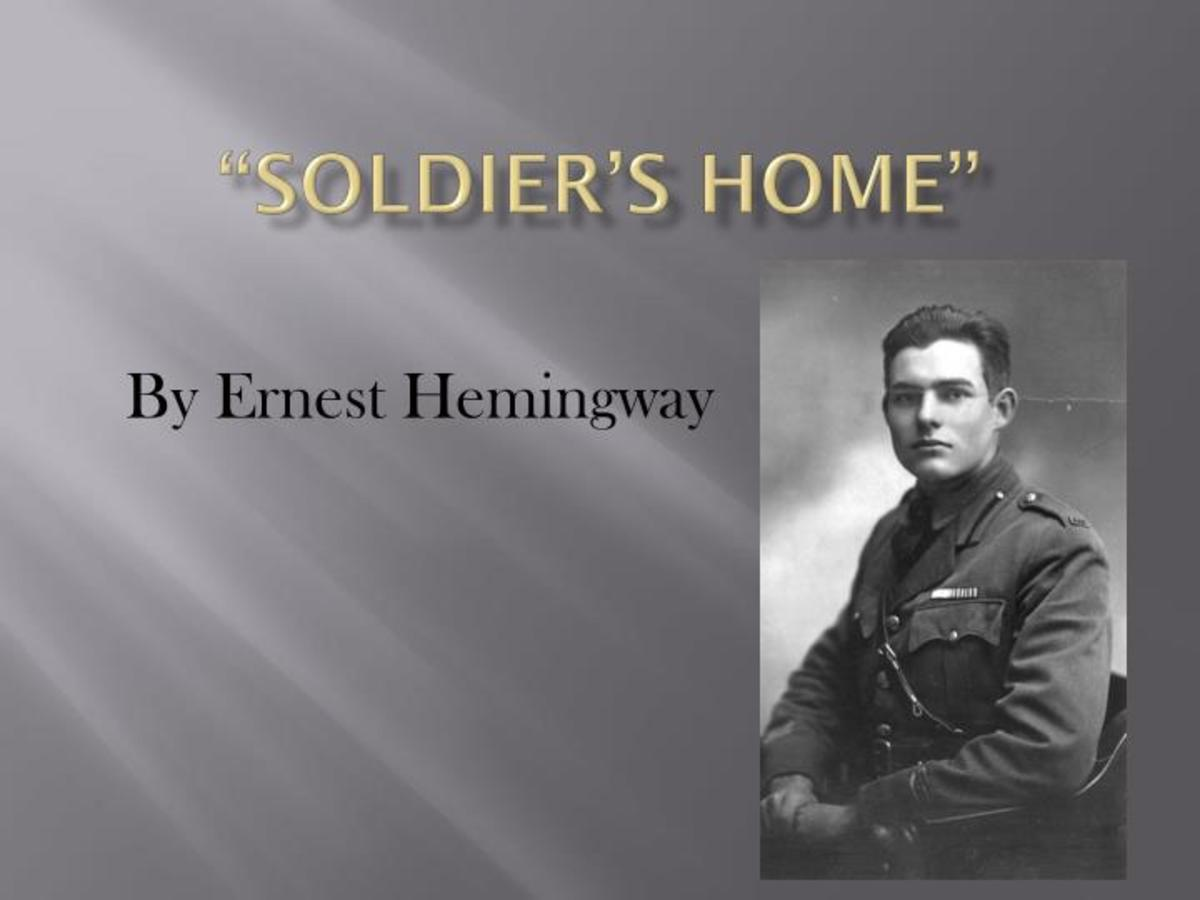 Ernest Hemingway - an Analysis and Interpretation of
