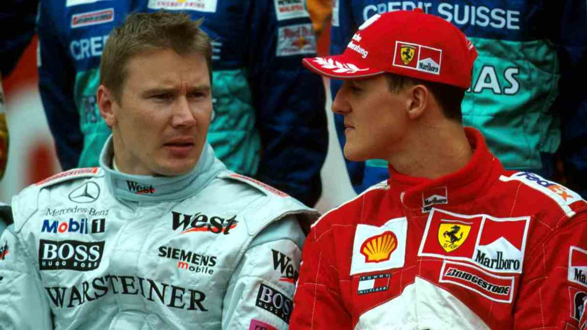 Mika Hakkinen – One of the Few Competitors Whom Schumacher Respected