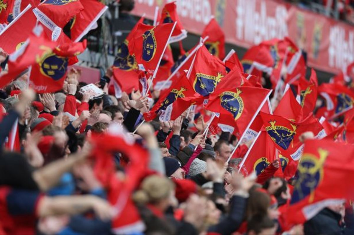 """""""The Red Army"""", Munster's loyal supporters"""