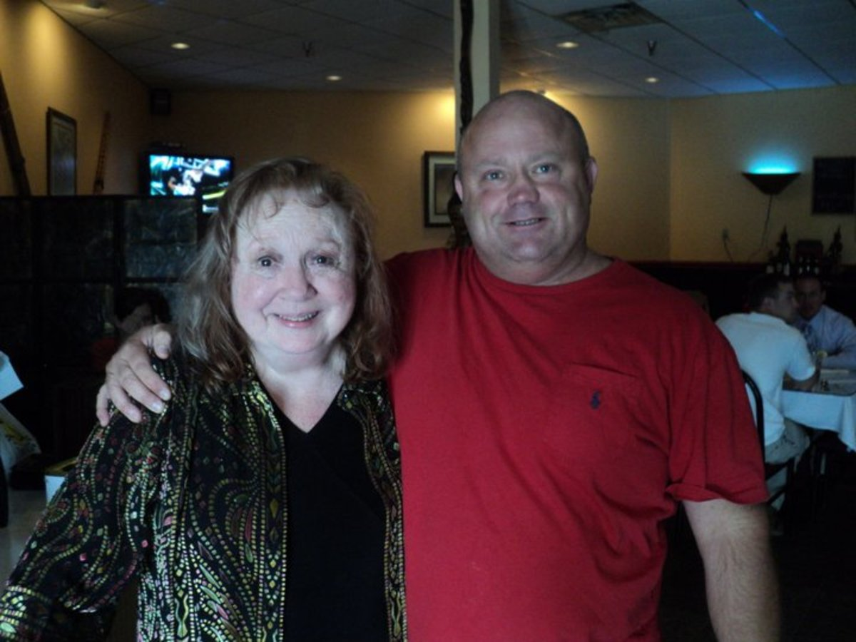 Betty Lynn actress and Ian Oliver in Mt. Airy N.C.