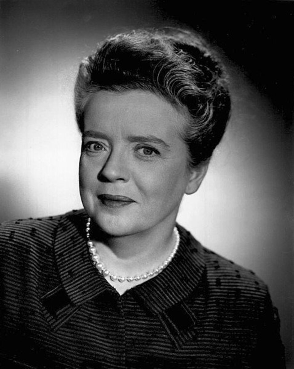 """Aunt Bea"" / Frances Bavier, The Andy Griffith Show, 1964."