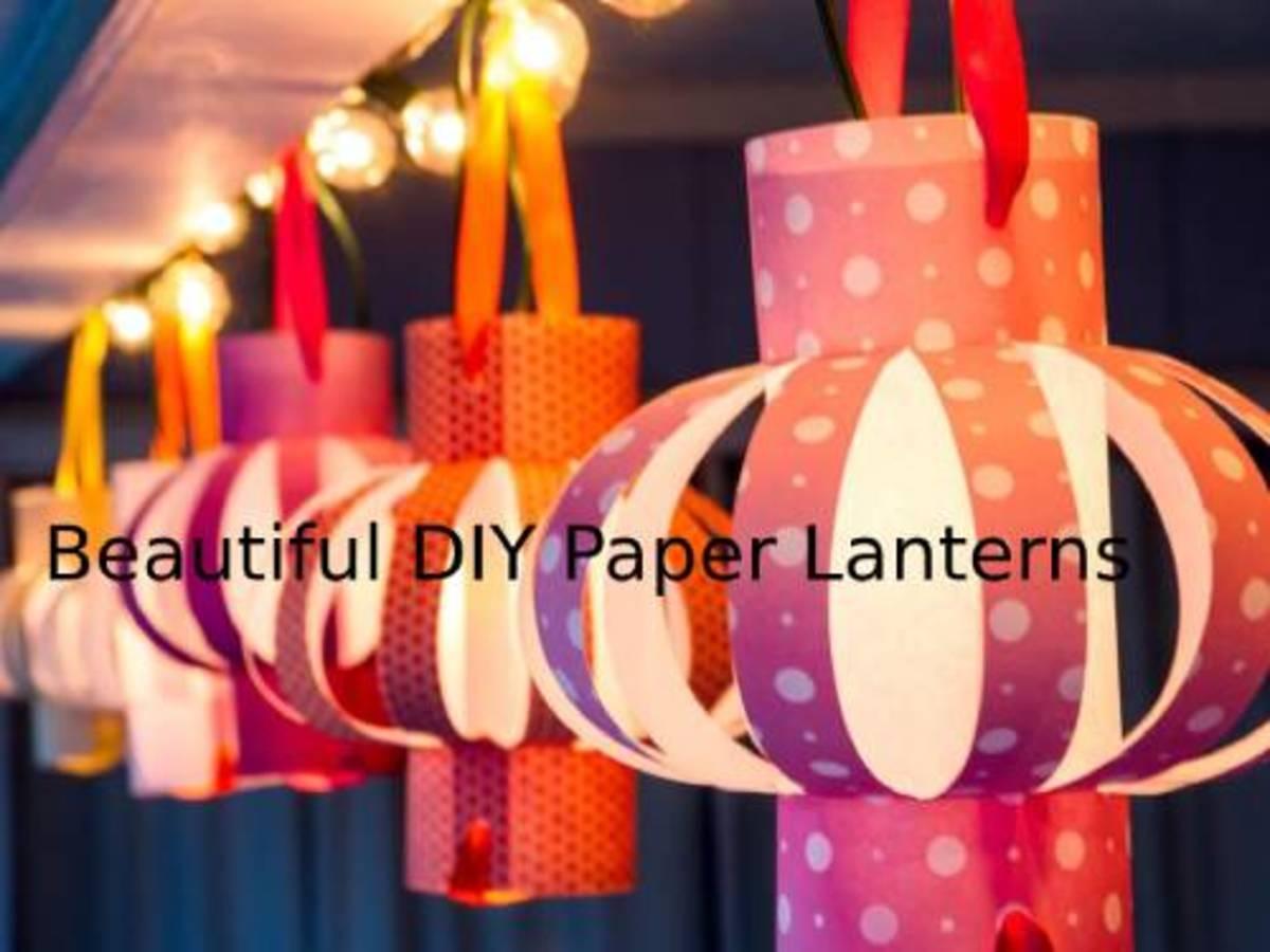 Crafty Ideas for Dazzling Handmade Paper Lanterns