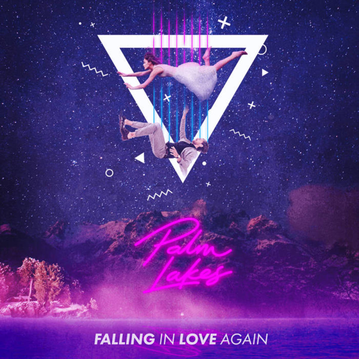 Synth Single Review: Palm Lakes, Falling In Love Again