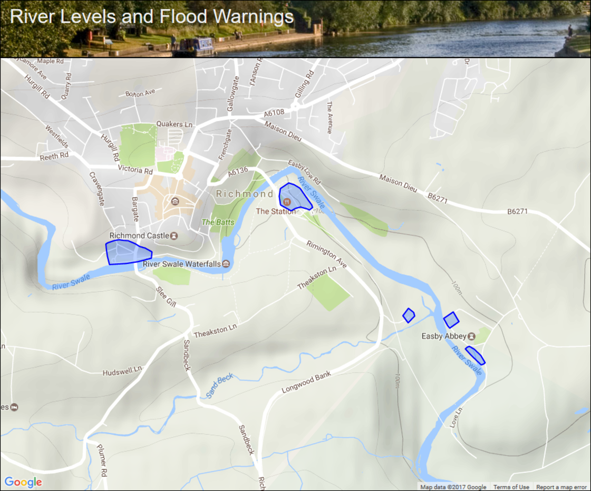 Flood warnings in place during the wet summer of 2019. Brief yourself on the weather prospects before launching yourself on this walk