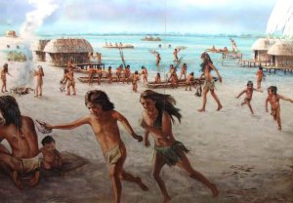 Calusa Native indians