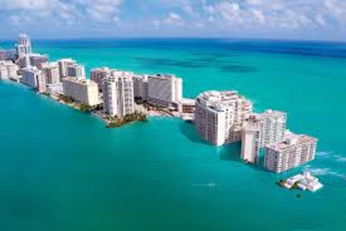 Miami, Fl projected Sea Level 2050